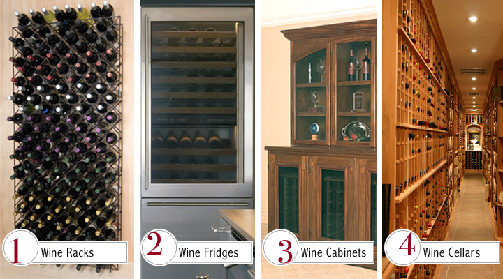 ... a check list for each type of wine storage - wine racks wine refrigerators wine cabinets and wine cellars - to help you find the right one for you. & Wine Storage